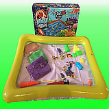 Детская игра с кинетическим песком + рыбалка на магнитную удочку, Danko Toys, фото 5