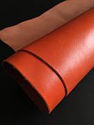 Кожа Наппа Виктория оранжевый