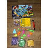 Детская игра с кинетическим песком + рыбалка на магнитную удочку, Danko Toys, фото 8
