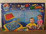 Детская игра с кинетическим песком + рыбалка на магнитную удочку, Danko Toys, фото 9