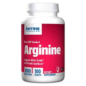 L-аргінін амінокислота Jarrow Formulas Arginine 1000 mg 100 tab