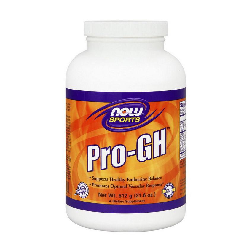 Аргинин Орнитин и Глютамин NOW Pro-GH 612 g