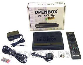 Спутниковый тюнер Openbox AS4K CI Lite