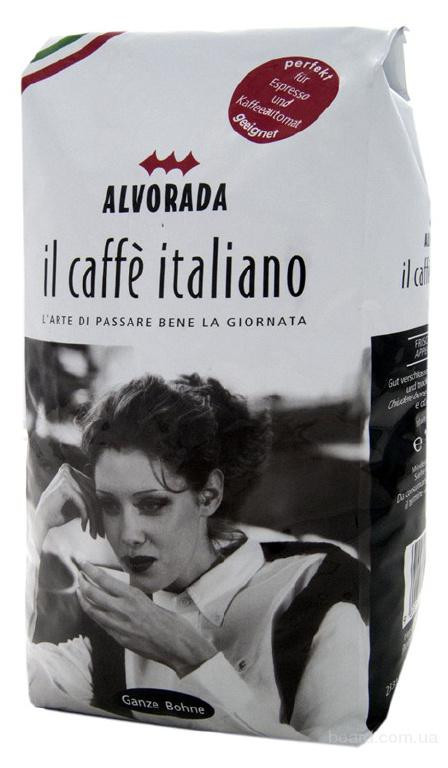 Кофе в зернах Alvorada IL Caffe Italiano 1 кг.