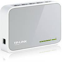 Коммутатор (свитч) TP-LINK TL-SF1005D 100 Мбит 5 портов, фото 1