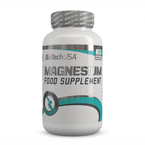 Магній BioTech Magnesium (120 caps)