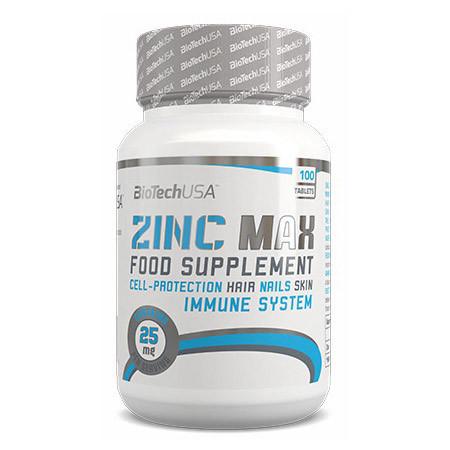 Цинк BioTech Zinc MAX (100 tabs)