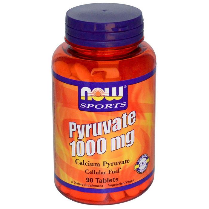 Кальций пируват NOW Pyruvate 1000 mg 90 tab