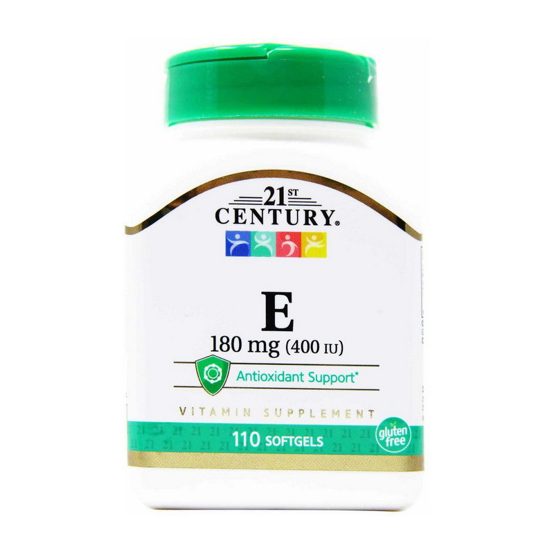 Вітамін E 21st Century Vitamin E 180 mg (400 IU) 110 softgels