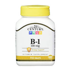 Тиамин 21st Century B-1 100 mg 110 tab