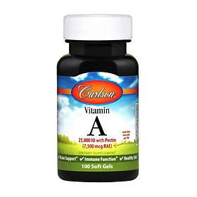 Витамин А Carlson Labs Vitamin A 7,500 mcg 100 softgels