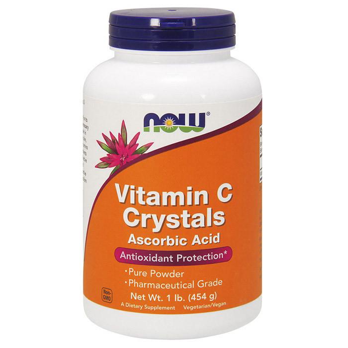 Витамин Ц NOW Vitamin C Crystals 454 g unflavored