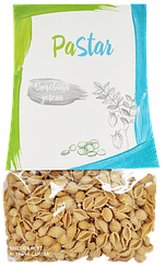 Макароны ракушка из чечевицы зеленой PaStar (350 грамм)