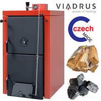 Котел твердотопливный Viadrus Нercules U22 C (3 секции, 18кВт)
