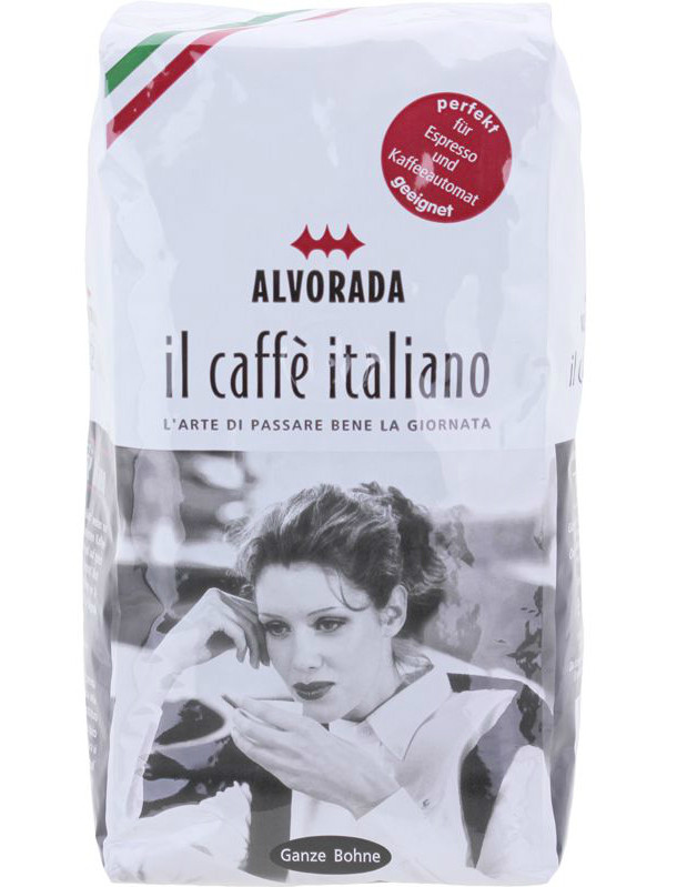Кофе в зернах Alvorada IL Caffe Italiano 500г.