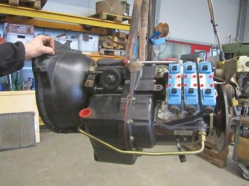 Ремонт коробки передач КПП JCB 3cx 4cx