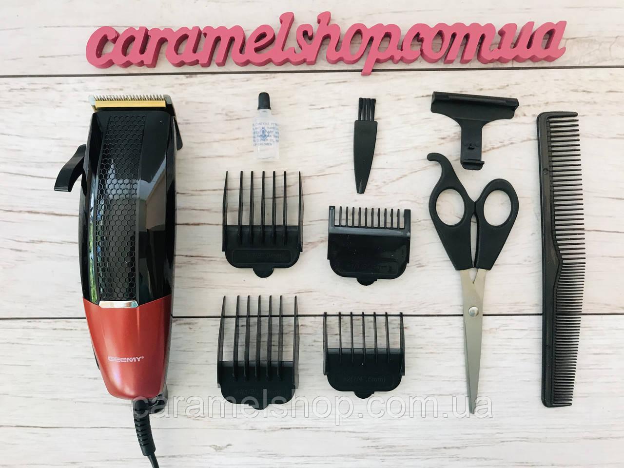 Машинка для стрижки волос и бороды Gemei GM-807