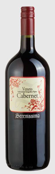 Вино Serenissima Cabernet I.G.T. Veneto , 1.5l