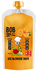 Пюре из Апельсина без сахара Bob Snail (400 грамм)