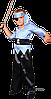 Детский карнавальный костюм Пирата Код. 9330