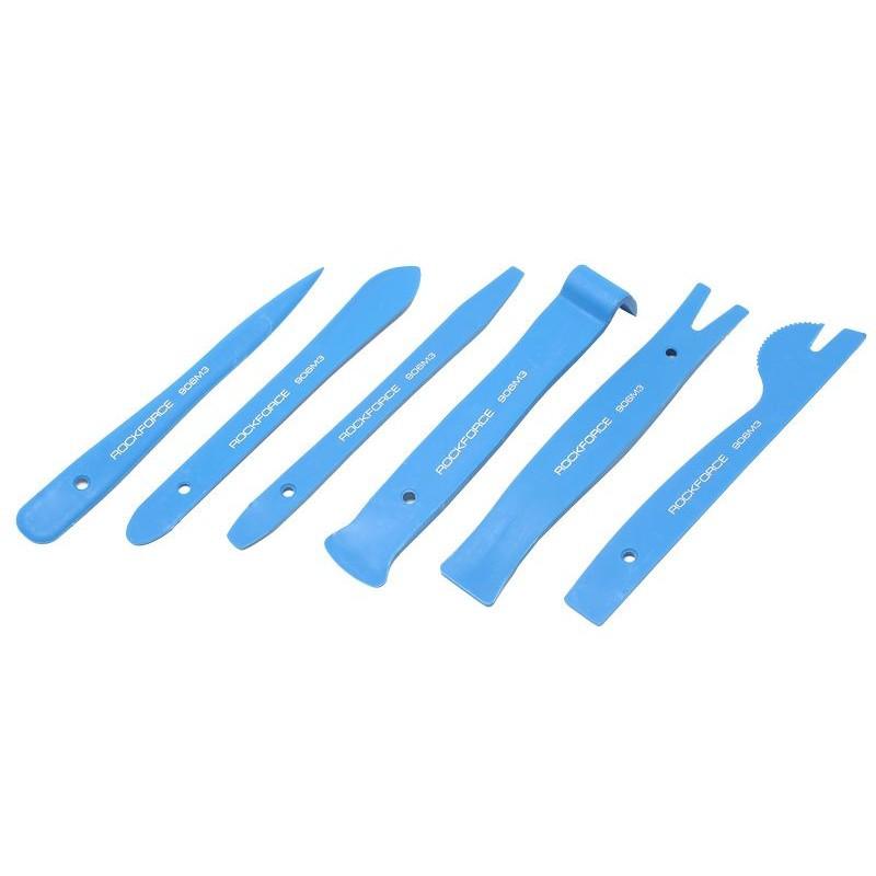 Съемники пластмассовые для обшивки салона автомобиля, набор 6пр.