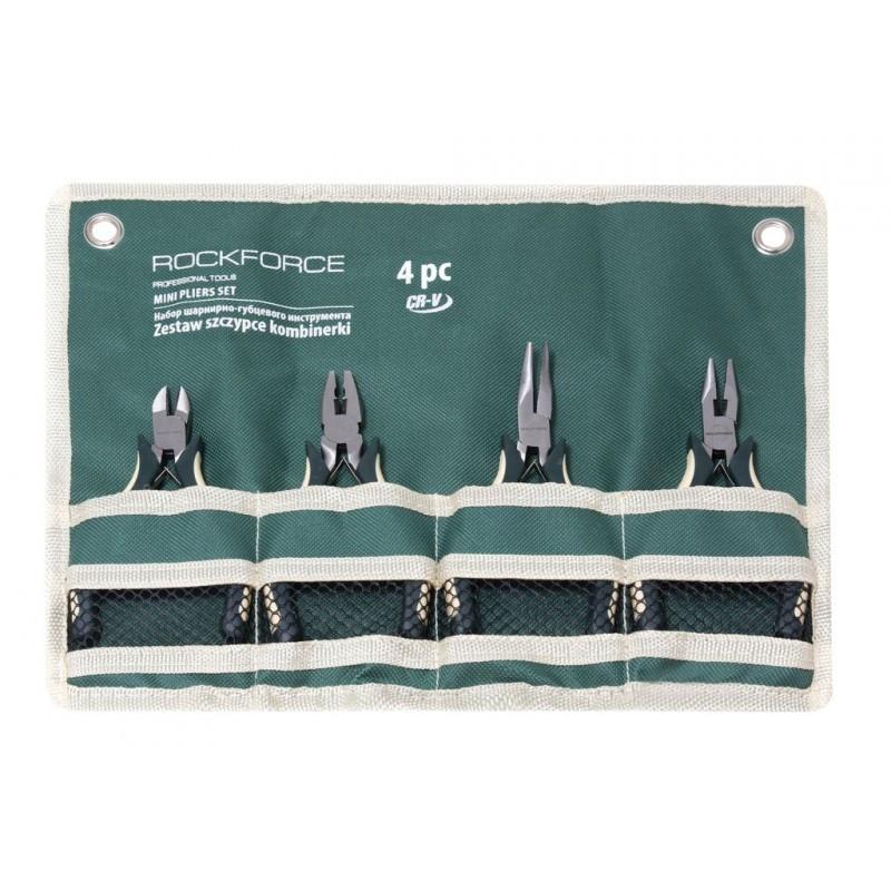 """Набор шарнирно-губцевого инструмента мини 4 пр. 5""""-125 мм, на полотне"""