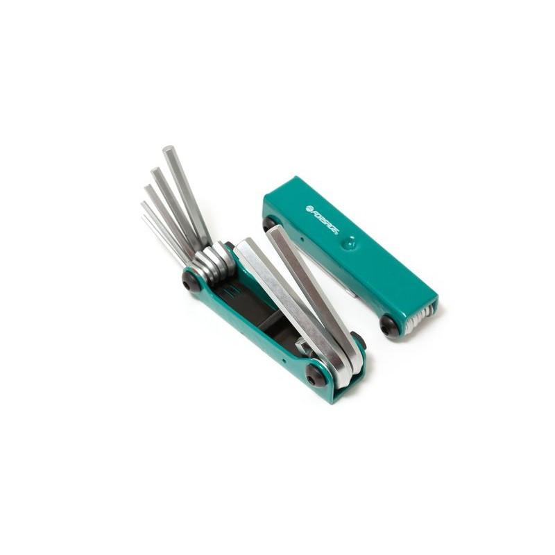 Набор ключей 6-гранных складной, 7 пр.(2.5, 3- 6, 8, 10 мм)