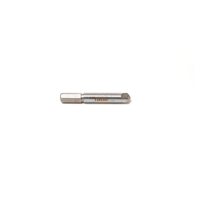 Сверло для извлечения заломанных болтов №2 HSS 4241, в пластиковом футляре