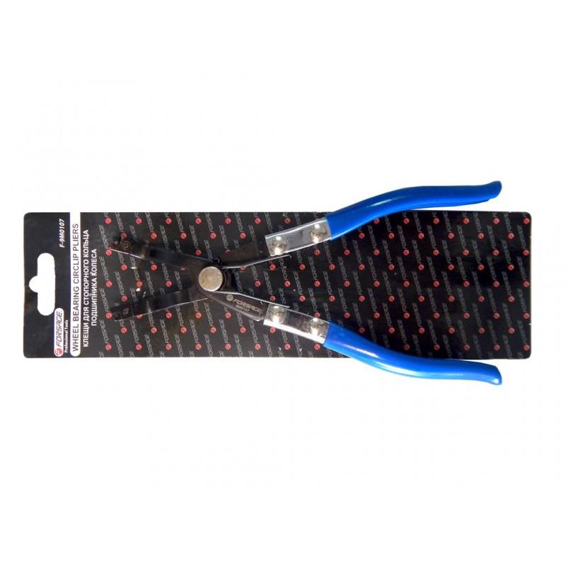 Клещи для снятия и установки стопорных колец без проушин, в блистере