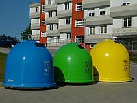 Стеклоплатиковые контейнеры для раздельного сбора мусора GFA