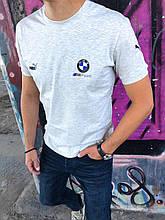 Мужская футболка BMW MPower серая
