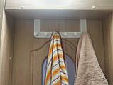 Предоплата! Дверная вешалка для вещей, одежды, полотенец IKEA ENUDDEN 602.516.65, фото 9