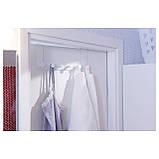 Передплата! Дверна вішалка для речей, одягу, рушників IKEA ENUDDEN 602.516.65, фото 5