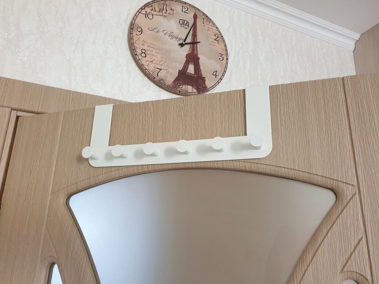 Передплата! Дверна вішалка для речей, одягу, рушників IKEA ENUDDEN 602.516.65