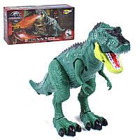 """Интерактивная игрушка """"Динозавр"""", с паром (зеленый) nanyu (NY029B)"""