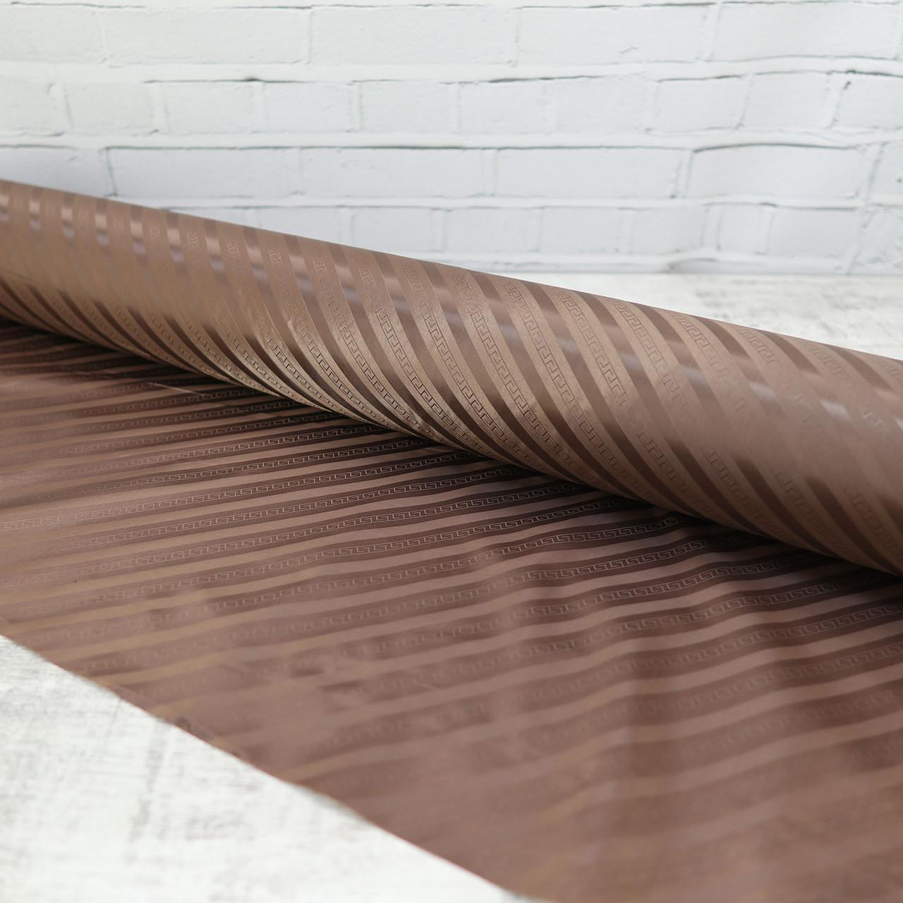 Ткань подкладочная сумочная коричневая a6519