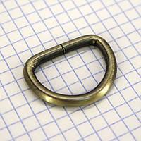 Полукольцо 25 мм антик для сумок a5601 (40 шт.)