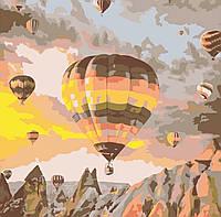 Картина по номерам Воздушные Шары