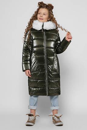 Зимняя куртка для девочки DT-8305, фото 2
