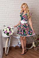 Шикарное модное платье из итальянского шелка.