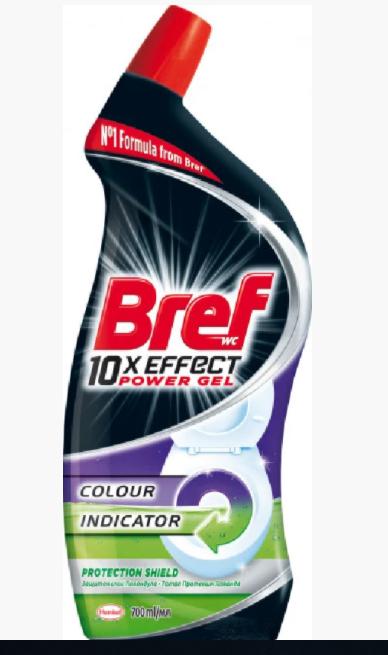 Гель для чистки унитаза Bref
