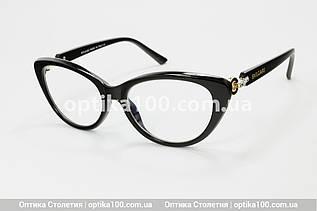 Небольшие очки для зрения в стиле BVLGARI. Корейские линзы с антибликом
