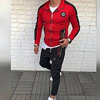 Мужской костюм спортивный оригинал philip plein 962 филип плейн sil