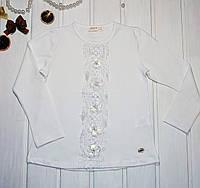 Белая школьная блузка Размеры 116 128 134 140 152