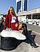 Женский вельветовый костюм с юбкой, фото 4