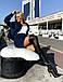 Женский вельветовый костюм с юбкой, фото 5