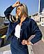 Женский вельветовый костюм с юбкой, фото 6