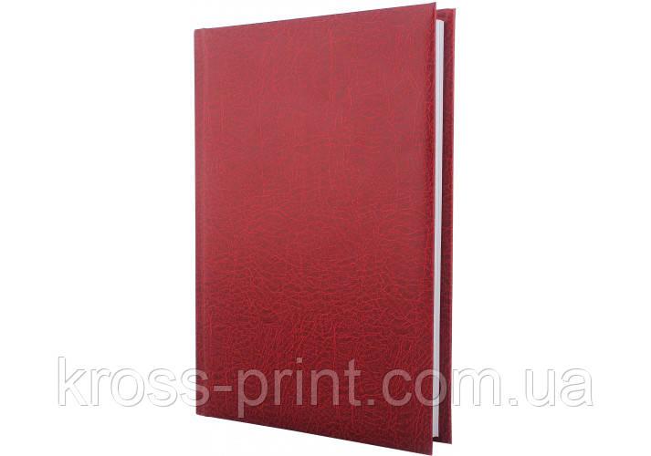 Щоденник недатований, SAHARA, темно-червоний, А5
