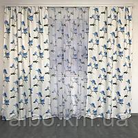 Шторы и тюль для зала кухни спальни, красивые шторы и тюль в зал комнату кухню квартиру, атласные шторы в, фото 2
