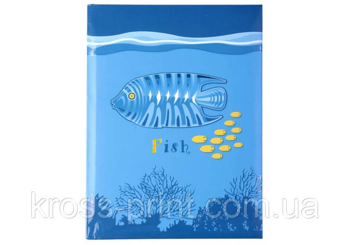 "Блокнот дитяча серія ""Риба"" А6, клітина, 80 л."
